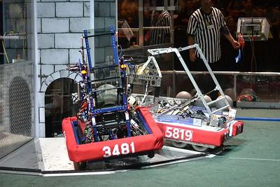 2016 First Bayou Regional Robotics Competition - Bouvier - 447