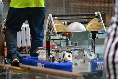 2016 FIRST Bayou Regional Robotics Competition - Bouvier - 155