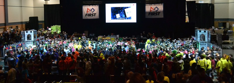 2016 FIRST Bayou Regional Robotics - Spectrum 3847 - 270