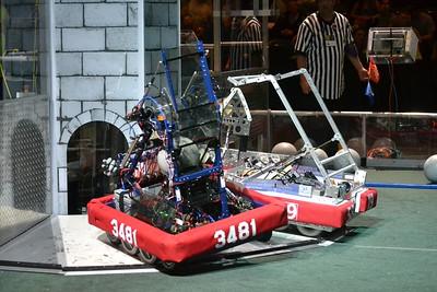 2016 First Bayou Regional Robotics Competition - Bouvier - 448