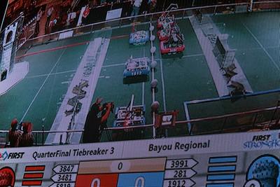 2016 First Bayou Regional Robotics Competition - Bouvier - 305