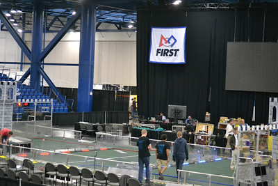 FRC Lone Star Regional Set Up April 6 - Bouvier - 01