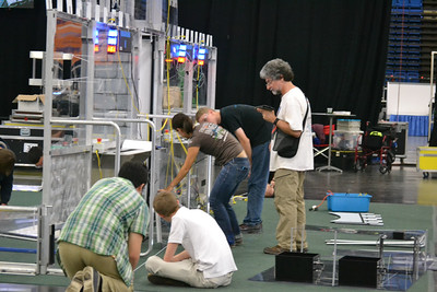 FRC Lone Star Regional Set Up April 6 - Bouvier - 38