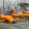orange gas pipe