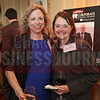 Jane Nohr, ACC Charlotte, and Ann Warren, Duke Energy Corporation, pose for a photo before the Corporate Counsel awards.