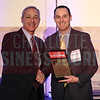 William Pleasant accepts his award in the Outstanding Corporate Counsel attorney staff of 11-29 category.