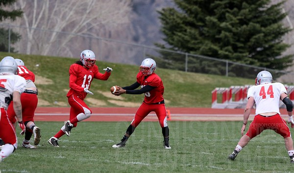 2016 Crimson vs Slate Spring Football