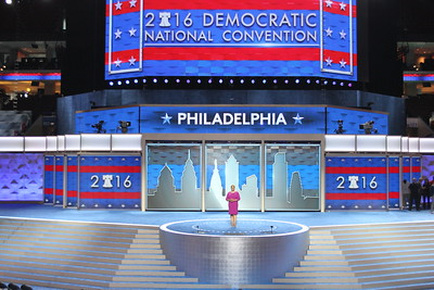 2016 DNC GROUP SHOTS AT WELLS FARGO CENTER IN PHILADELPHIA, PA