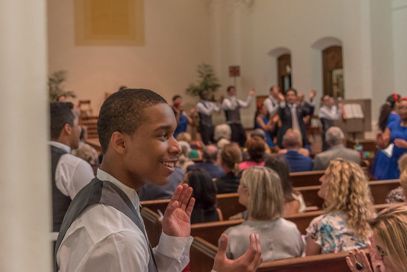 American Spirituals with Lester Lynch and Young People's Chorus of NYC at Mont la Salle Chapel