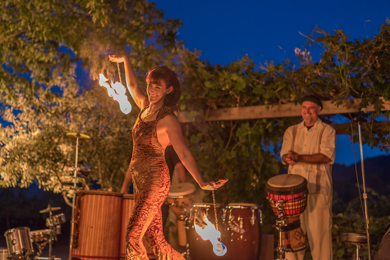 Full Moon Party at Harvest Inn by Charlie Palmer