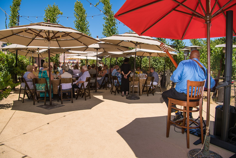 Vintner's Luncheon at PEJU Province Winery and Vineyards