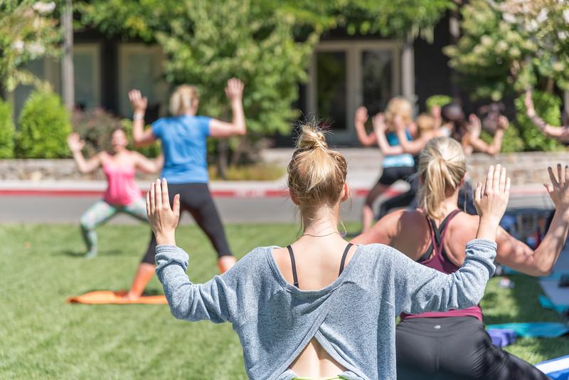 Yoga at SENZA