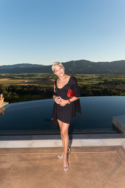 RUTHERFORD, CA - July 19 -  Serry Osmena attends Festival Napa Valley Patron Dinner at Round Hill Estate July 19th 2016 at Round Hill Estate , . 101 Rutherford Hill Road in Rutherford, CA (Photo Credit: Susana Bates for Drew Altizer Photography for Drew Altizer Photography)