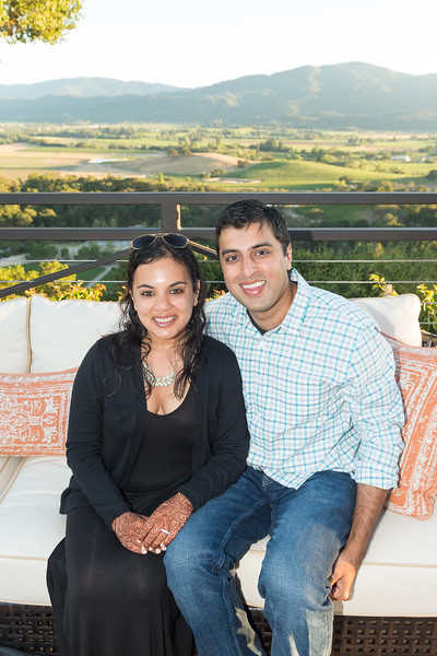 RUTHERFORD, CA - July 19 -  Vanita Gindal and Amay Champaneria attend Festival Napa Valley Patron Dinner at Round Hill Estate July 19th 2016 at Round Hill Estate , . 101 Rutherford Hill Road in Rutherford, CA (Photo Credit: Susana Bates for Drew Altizer Photography for Drew Altizer Photography)