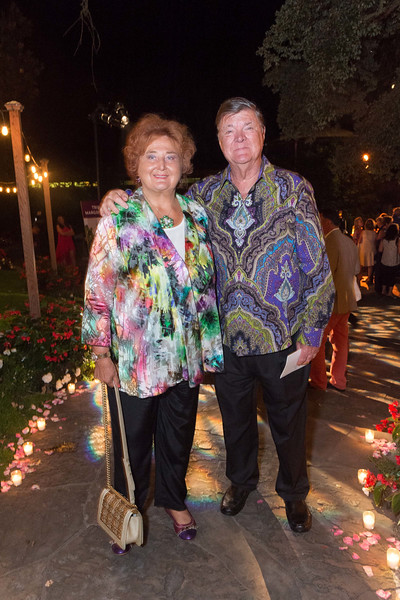 OAKVILLE, CA - July 23 -  Tatiana Copeland and Gerret Copeland attend Festival Napa Valley Tribute to Margrit Mondavi at Far Niente July 23rd 2016 at Far Niente Winery, . 1350 Acacia Dr in Oakville, CA (Photo Credit: Susana Bates for Drew Altizer Photography for Drew Altizer Photography)