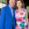 CALISTOGA, CA - July 22 -  Antonio Castellucci and Rita Castellucci attend Festival Napa Valley: Bulgari Luncheon at Davis Estates July 22nd 2016 at Davis Estates, . 4060 SILVERADO TRAIL in CALISTOGA, CA Photo - Drew Altizer