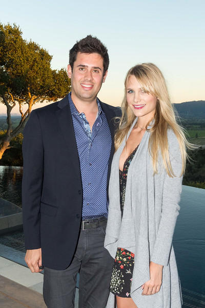 RUTHERFORD, CA - July 19 -  Felipe Recalde and Molly Owen attend Festival Napa Valley Patron Dinner at Round Hill Estate July 19th 2016 at Round Hill Estate , . 101 Rutherford Hill Road in Rutherford, CA (Photo Credit: Susana Bates for Drew Altizer Photography for Drew Altizer Photography)