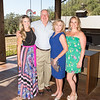 CALISTOGA, CA - July 22 -  Erica Davis, Mike Davis, Sandy Davis and Kara Davis attend Festival Napa Valley: Bulgari Luncheon at Davis Estates July 22nd 2016 at Davis Estates, . 4060 SILVERADO TRAIL in CALISTOGA, CA Photo - Drew Altizer