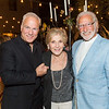 RUTHERFORD, CA - July 19 -  Franc D'Ambrosio, Lois Lehrman and Ted Deikel attend Festival Napa Valley Patron Dinner at Round Hill Estate July 19th 2016 at Round Hill Estate , . 101 Rutherford Hill Road in Rutherford, CA (Photo Credit: Susana Bates for Drew Altizer Photography for Drew Altizer Photography)