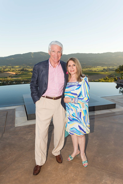 RUTHERFORD, CA - July 19 -  Timothy Blackburn and Athena Blackburn attend Festival Napa Valley Patron Dinner at Round Hill Estate July 19th 2016 at Round Hill Estate , . 101 Rutherford Hill Road in Rutherford, CA (Photo Credit: Susana Bates for Drew Altizer Photography for Drew Altizer Photography)