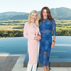 RUTHERFORD, CA - July 19 -  Pamala Deikel and Nicole Needham attend Festival Napa Valley Patron Dinner at Round Hill Estate July 19th 2016 at Round Hill Estate , . 101 Rutherford Hill Road in Rutherford, CA (Photo Credit: Susana Bates for Drew Altizer Photography for Drew Altizer Photography)