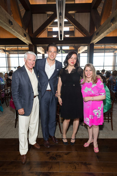 CALISTOGA, CA - July 22 -  Timothy Blackburn, Daniel Paltridge, Jennifer Tilly and Athena Blackburn attend Festival Napa Valley: Bulgari Luncheon at Davis Estates July 22nd 2016 at Davis Estates, . 4060 SILVERADO TRAIL in CALISTOGA, CA Photo - Drew Altizer