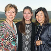 RUTHERFORD, CA - July 19 -  Eileen Crane, Brittany Brown and Naoko Dalla Valle attend Festival Napa Valley Patron Dinner at Round Hill Estate July 19th 2016 at Round Hill Estate , . 101 Rutherford Hill Road in Rutherford, CA (Photo Credit: Susana Bates for Drew Altizer Photography for Drew Altizer Photography)