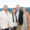 RUTHERFORD, CA - July 19 -  Jose Luis Nazar, Delia Viader, Herb Beard and Janet Viader attend Festival Napa Valley Patron Dinner at Round Hill Estate July 19th 2016 at Round Hill Estate , . 101 Rutherford Hill Road in Rutherford, CA (Photo Credit: Susana Bates for Drew Altizer Photography for Drew Altizer Photography)