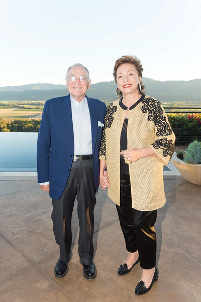 RUTHERFORD, CA - July 19 -  Jan Shrem and Maria Manetti Shrem attend Festival Napa Valley Patron Dinner at Round Hill Estate July 19th 2016 at Round Hill Estate , . 101 Rutherford Hill Road in Rutherford, CA (Photo Credit: Susana Bates for Drew Altizer Photography for Drew Altizer Photography)