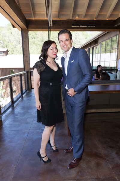 CALISTOGA, CA - July 22 -  Jennifer Tilly and Daniel Paltridge attend Festival Napa Valley: Bulgari Luncheon at Davis Estates July 22nd 2016 at Davis Estates, . 4060 SILVERADO TRAIL in CALISTOGA, CA Photo - Drew Altizer