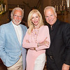 RUTHERFORD, CA - July 19 -  Ted Deikel, Pamala Deikel and Franc D'Ambrosio attend Festival Napa Valley Patron Dinner at Round Hill Estate July 19th 2016 at Round Hill Estate , . 101 Rutherford Hill Road in Rutherford, CA (Photo Credit: Susana Bates for Drew Altizer Photography for Drew Altizer Photography)