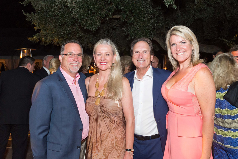 OAKVILLE, CA - July 23 -  Sean Kelly, Beth Nickel, Larry Maguire and Jennifer Brown attend Festival Napa Valley Tribute to Margrit Mondavi at Far Niente July 23rd 2016 at Far Niente Winery, . 1350 Acacia Dr in Oakville, CA (Photo Credit: Susana Bates for Drew Altizer Photography for Drew Altizer Photography)