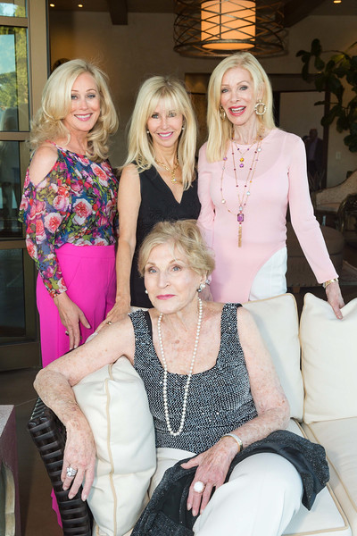 RUTHERFORD, CA - July 19 -  Sandra Schnitzer, Ginger Martin, Lois Lehrman and Pamala Deikel attend Festival Napa Valley Patron Dinner at Round Hill Estate July 19th 2016 at Round Hill Estate , . 101 Rutherford Hill Road in Rutherford, CA (Photo Credit: Susana Bates for Drew Altizer Photography for Drew Altizer Photography)