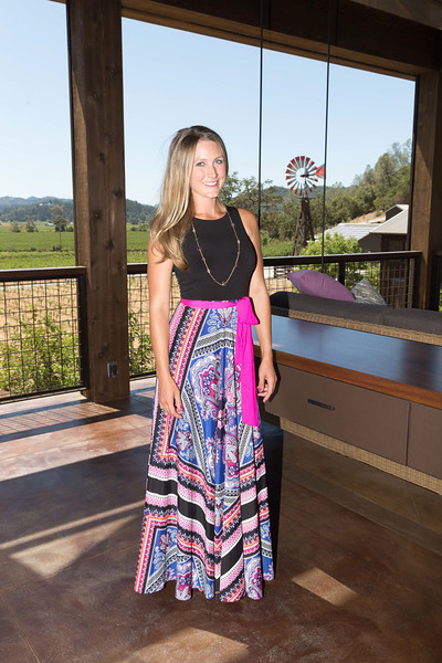 CALISTOGA, CA - July 22 -  Erica Davis attends Festival Napa Valley: Bulgari Luncheon at Davis Estates July 22nd 2016 at Davis Estates, . 4060 SILVERADO TRAIL in CALISTOGA, CA Photo - Drew Altizer