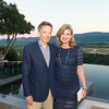 RUTHERFORD, CA - July 19 -  Rick Walker and Karen Walker attend Festival Napa Valley Patron Dinner at Round Hill Estate July 19th 2016 at Round Hill Estate , . 101 Rutherford Hill Road in Rutherford, CA (Photo Credit: Susana Bates for Drew Altizer Photography for Drew Altizer Photography)
