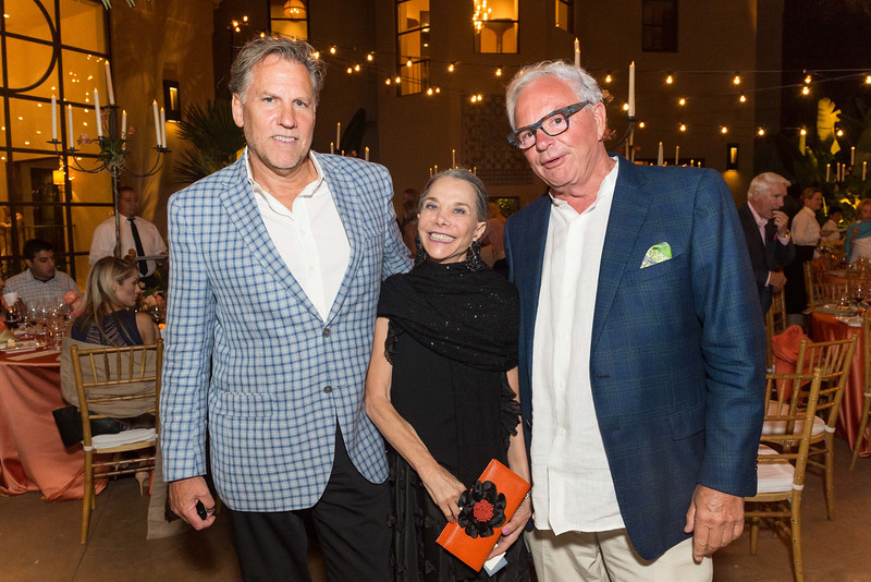 RUTHERFORD, CA - July 19 -  ?, Julie Coplon and ? attend Festival Napa Valley Patron Dinner at Round Hill Estate July 19th 2016 at Round Hill Estate , . 101 Rutherford Hill Road in Rutherford, CA (Photo Credit: Susana Bates for Drew Altizer Photography for Drew Altizer Photography)