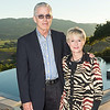 RUTHERFORD, CA - July 19 -  Robert Fourr and Pamela Phillips attend Festival Napa Valley Patron Dinner at Round Hill Estate July 19th 2016 at Round Hill Estate , . 101 Rutherford Hill Road in Rutherford, CA (Photo Credit: Susana Bates for Drew Altizer Photography for Drew Altizer Photography)