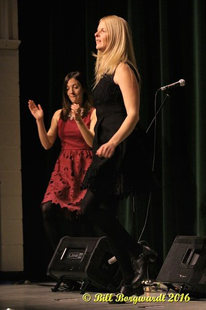 December 11, 2016 - The Ennis Sisters Christmas Show at the Moyer Recreation Centre in Josephburg