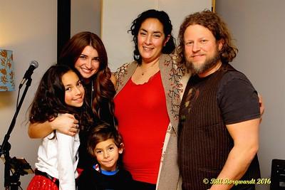 Tenille with Sophia, Jude, Christina & Joel Rathjen - House Concert 2016 078a