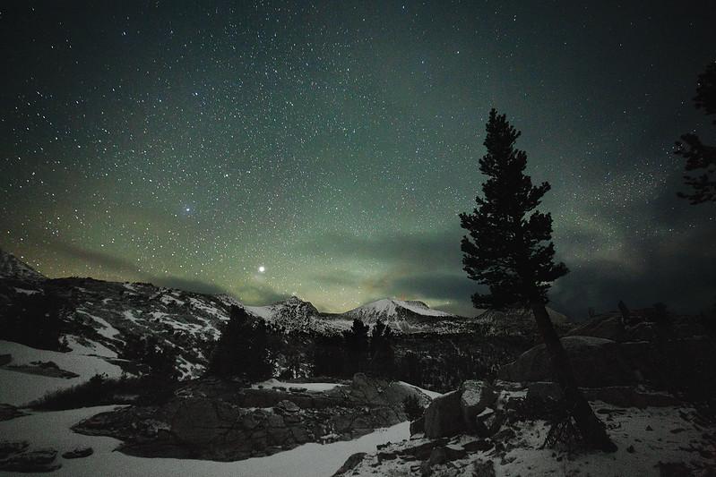Winter in the High Sierra