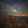 Milky Way over Point Sublime in the Grand Canyon