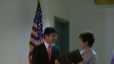 KPA2016 Dinner Party-Award from Consul General of the Republic of Korea in San Francisco, Lee Sung Do