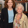 Peabody Award winner Alisa Chapman, with her mother, Rebecca Miller. Chapman is vice president for academic and university programs at the University of North Carolina's General Administration.