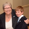 Faculty member Janice Anderson with her son, Logan.