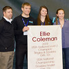 Ellie Coleman Awarded 2015 USTA National Champion Banner for Singles & Doubles