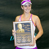 CiCi Bellis Receives the Larry Reed Most Promising Newcomer Award