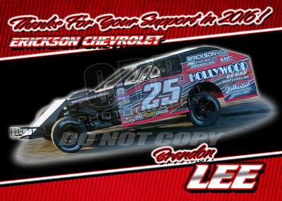 Brandon Lee Sponsors