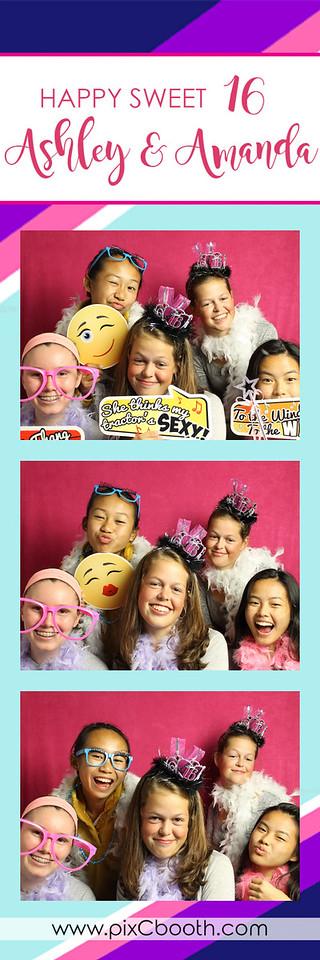 10-14-16 Amanda & Ashley's 16th Birthday