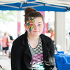 Sommer Evans shows off her freshly painted face at the<br /> Effingham County Fair.<br /> Trent Pearcy photo