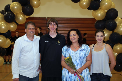2016 El Dorado Boys Volleyball Senior Night